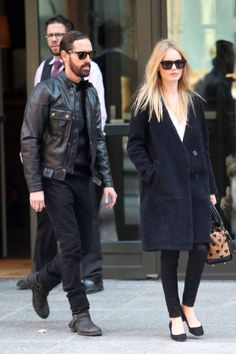 Kate Bosworth's Coat Show