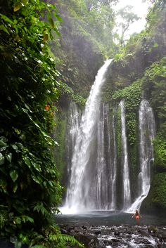 Waterfall - Lombok, Indonesia