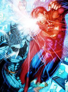 Batman/Superman #6 (2014) - Brett Booth