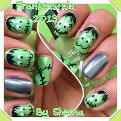 Frankenstein nails 2013