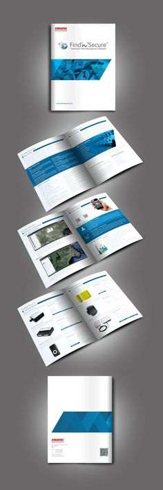 New Technology Brochure Catalog Templates