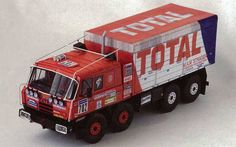 Tatra T815 VT26 265 8X8.1 Truck Free Vehicle Paper Model Download