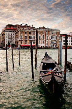 Take a gondola ride in Venice <3 <3 <3