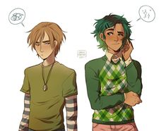 Magnus Chase and Alex Fierro