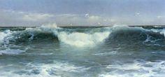 marine oil paintings: James