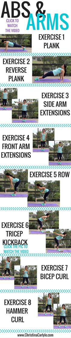 I've created this upper body workout so you can alternate it with the other lower body and ab workouts!
