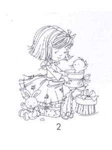 Dawn Clear Stamps - with Kitten 002 Colouring Pages, Coloring Books, Digital Stamps Free, Picture Site, Little Charmers, Digi Stamps, Color Blending, Lily Of The Valley, Clear Stamps