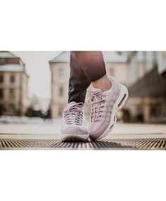 timeless design b4012 7f7f7 Nike Wmns Air Max 95 Lx Pink   White Shoes