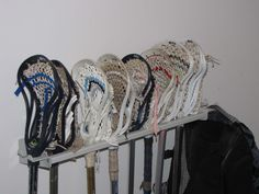 Lacrosse Stick Rack Holder