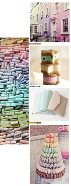 Pastel inspirations /Cupcakes for Breakfast