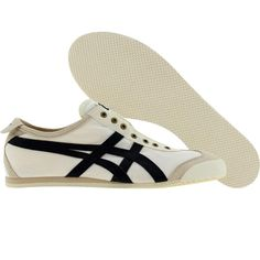 Asics Onitsuka Tiger Mexico 66 Slip On CV (birch / navy) #onitsukatiger