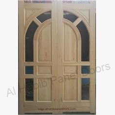 This is Kail Wood Double Door With Glass. Code is Product of Doors - Elegant double wooden door, Glass Panel Double door. Solid wood glass door also available in ash wood, kail wood. Al Habib Wood Glass Door, Glass Panel Door, Panel Doors, Glass Panels, Wooden Double Doors, Wooden Doors, Bedroom Storage Cabinets, Flush Doors, Pvc Wall