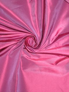 "100% Pure SILK TAFFETA FABRIC Pink x Purple 2.18 yards continuous piece 54"""