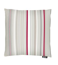 Vallila Interior AW14, Nelson cushion cover 43x43cm red by Tanja Orsjoki