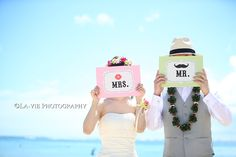 アイテム+ビーチフォト! 〜ハワイウェディング〜 |Wedding Scene by TAKA PHOTO