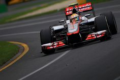 Lewis Hamilton during Friday Free Practice for the 2012 Australian Grand Prix #F1