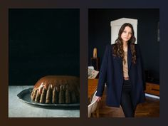 "Marrying food and fashion: sticky toffee pudding + Antonia Siegmund by ""A Love is Blind"""