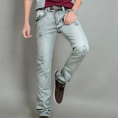 2016 New Men's Jeans brand men jeans ,dropshipping