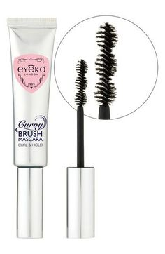 Eyeko 'Curvy Brush' Mascara available at #Nordstrom<-----referred to as false lashes in a tube! I MUST TRY!!!!