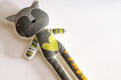 Printed softie - Reinaldo the cat