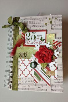 My december daily 2012 using Heidi Swapp Believe #decemberdaily #heidiswapp #believe