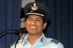 Group Captain Sachin Tendulkar .. #IndianAirForce #sachin