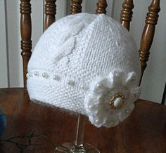 Knitting Pattern Baby Hat Baby Beanie Knit Pattern Infant Baby