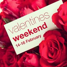 Valentines weekend!! We are filling up very quickly!! :) feeling the love!!