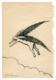 'flying lepus' - jon carling 2010