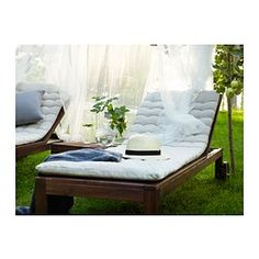 Two of these (folds into benches) and a little table in between for the back patio!  NEED this for those breezy summer nights :)