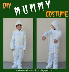 Create Kids Couture: Day 8: Mummy Costume