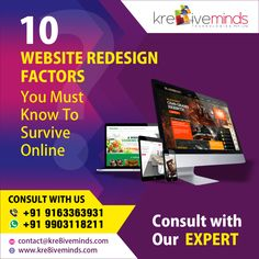 10 Website Redesign Factors You Must Know To Survive Online 𝐆𝐞𝐭 𝐚 𝐅𝐫𝐞𝐞 𝐐𝐮𝐨𝐭𝐞: +91 9163363931 𝑾𝒉𝒂𝒕𝒔𝒂𝒑𝒑: +91 9903118211 #Business #DigitalMarketing #SEO #SMO #GenerateLeads #Sales #OnlineMarketing #BestSales #SEOCompany #DigitalAgency #DigitalMarketingChallenge
