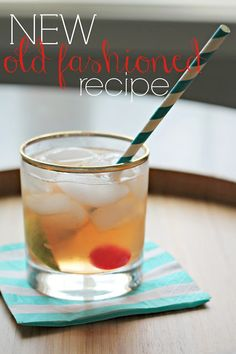 Burlap & Lace: A New Old Fashioned Recipe