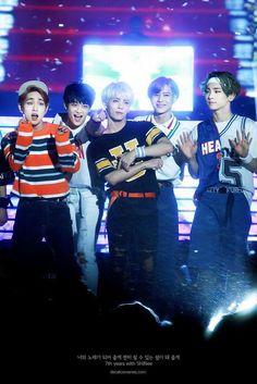 150523 Onew, Taemin, Jonghyun, Minho and Key - Dream Concert.