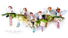 Pixie Hill: A Holiday Tradition for Petaloo - Clothespin Fairies