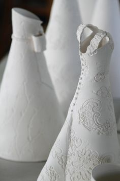 Ceramic dress - Diana Chamberlain