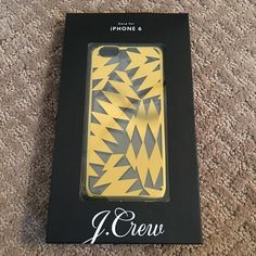 🆑 J Crew NWT iPhone 6/6s Gold geometric case J Crew NWT iPhone 6/6s Gold geometric pattern hard shell case. Price Firm bundle for discount . 2 Items 10% Off 3 + Items 15% Off J. Crew Accessories Phone Cases
