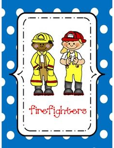 Here's a set of posters and word wall cards for community helpers. Occupations include firefighter, police officer, doctor, vet, nurse, dentist, teacher, farmer, and postal workers