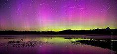 WATCH: Clouds Roll Beneath Glowing Aurora in Stunning Mount Washington Time-Lapse