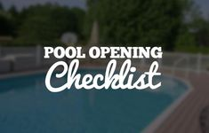 Pool Care / Maintenance Checklists - The Pool Factory Above Ground Pool, In Ground Pools, My Pool, Pool Fun, Pool Care, Do It Right, Up And Running, Cool Pools, Read More