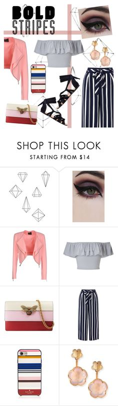 What's trend: Peachy Bold Stripes🍑 by fifi-fiani on Polyvore