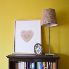 This paper heart doiley print is so simple it makes me smile :)