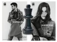 G-Star Raw – Magnus Carlsen and Liv Tyler | ChessPix.com