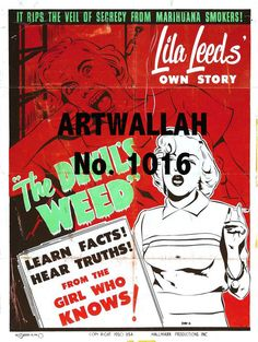 Devil Weed  Vintage Movie Poster  8.5 x 11 inches  by ArtWallah