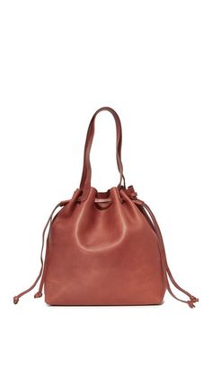 MADEWELL Drawstring Transport Tote. #madewell #bags #shoulder bags #hand bags #leather #tote #