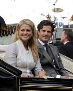 Princess Madeleine of Sweden and brother Prince Carl Philip of Sweden