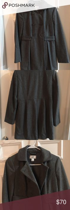Loft Peacoat CLOSET CLEAN OUT!!! I'm this extremely nice, good quality Loft Peacoat. This doesn't fit me any longer and I simply need to rid some stuff from my life. My loss is your gain! EUC LOFT Jackets & Coats Pea Coats