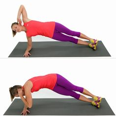 What's the perfect complement to your heart-pumping cardio workout? This dynamic core workout, that's what. 5 Minute Abs Workout, Ab Workout At Home, Abs Workout For Women, Fitness Models, Fitness Tips, Fitness Motivation, Health Fitness, Fitness Inspiration, Tonifier Son Corps
