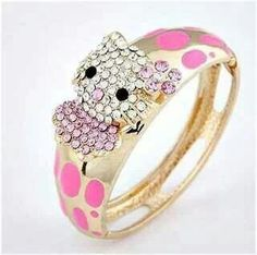 Cute ring Hello Kitty Jewelry, Cute Rings, Cuff Bracelets, Jewelry Box, Kids Fashion, Gold Rings, Dots, Rose Gold, Daughter