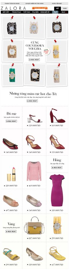 Zalora Women Newsletter Jan 28th 2014